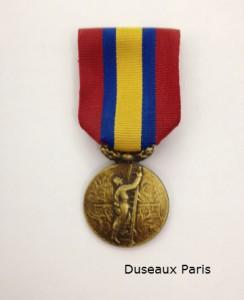 Médaille UDSP   -   modèle Duseaux
